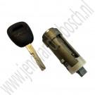 Slotcilinder, met sleutel, gebruikt, Saab 900NG, 9000, 9-3 v1, 9-5, bj 1985-2010, ond.nr. 8960221