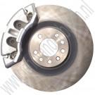 """Rem upgrade set, 17+"""" Big Brake Kit, dubbele zuigers, J&D Engineering, Saab 9-5, 9-3 v2, 2002-2012"""
