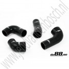 Intercooler slangenset, turbo, do88, Saab 9000, Bouwjaar 1985-1990, ond.nr. 9387671, 9387689, 9390956, 9391509