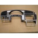 Dashboard saab 9-5  2006>  zilver  aluminium look