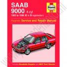 Werkplaatshandboek, Saab 9000 Haynes, bouwjaar 1985-1998