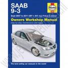 Werkplaats handboek, Haynes, Saab 9-3 sport Versie 2,  bouwjaar: 2007-2011