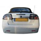 Achterruit, gebruikt, Saab 9-3v2 cabriolet, bj 2004-2012, ond.nr. 12883552, 12764709