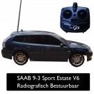 Modelauto radiografisch bestuurbaar SAAB 9-3 Sport Estate Aero 2.8 V6