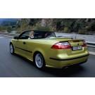 Spoiler achterklep, gebruikt, oud type, Saab 9-3 versie 2 cabrio, bouwjaar 2004 tm 2008, ond. nr. 12832496, 12830331