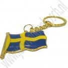 Sleutelhanger, Zweedse Vlag