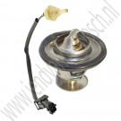 Thermostaat en M12 sensor set, 82 graden, Origineel, Saab 9000, 900NG, 9-3 v1, bj 1994-2000, ond.nr. 8817538, 9182205