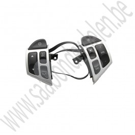 Stuurwielbediening, Sentronic, Matchroom, Origineel, Saab 9-5, benzinemotoren,  bj 2006-2010, ond.nr. 12758034