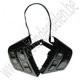 Audio schakelaar, Mat zwart, Gebruikt, Saab 9-3v2, bj 2007-2011, art.nr 12764172
