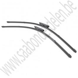 Set ruitenwisserbladen Flat Blade, Valeo, Saab 9-5, bj 2008-2010, org.nr. 12781786, VM457