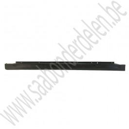 Zijskirt, rechts, gebruikt, zwart, Linear, Arc, Saab 9-3 v2, bouwjaar 2003-2007, ond.nr. 12785878