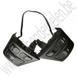 Audio schakelaar, Mat zwart, Gebruikt, Saab 9-3v2, bj 2004-2012, art.nr 12786152, 12759539