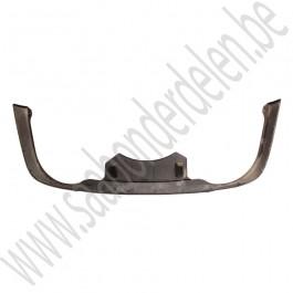 Onderlip, achterbumper, ongespoten, Origineel, Saab 9-3 v2, Sedan en Cabriolet, Linear, Arc, bj 2003-2007, ond.nr. 12788531