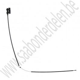 Kabel, motorkap, voorste deel, Origineel, Saab 9-3 v2, bj 2003-2007, art.nr 12793104
