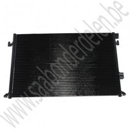 Condensor, zonder filterdroger, OE-Kwaliteit, Saab 9-3 v2, 1.8t, 2.0t, 2.0T, 2.2TiD, 1.9 TiD, bj 2003-2012, ond. nr. 12793296, 12793695