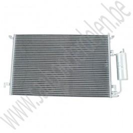 Condensor incl filterdroger voor aircosysteem, OE-Leverancier, Saab 9-3 versie 2, automaat, bouwjaar: 2003 tm 2010, ond. nr. 12793296
