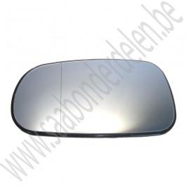Linker buitenspiegelglas, aftermarket, Saab 9-5, 9-3v2, bj 2003-2009, ond.nr. 12795601, 12795602, 12795600, 5512272, 32019078