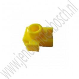 Bevestigingsclip, hulpveer koppelingspedaal, Origineel, Saab 9-3 v2, bj 2003-2012, ond.nr. 12800290