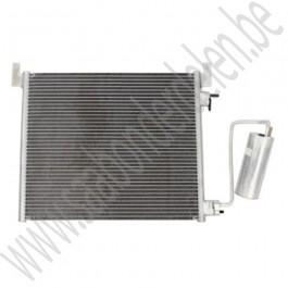 Condensor, incl filterdroger, OE-Kwaliteit, Saab 9-3v2, 2.8t V6, 1.9 TTiD, bj 2005-2012, ond. nr. 12775542, 12805059