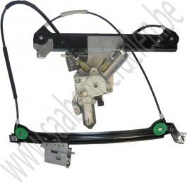 Linker raam mechanisme met vinger protectieSaab 9-3 sport cabriolet bj: '04 tm '12 art. nr 12830389, 12788803, 12832851 12788799,