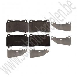 Voorremblokken, 18+ inch, OE-Kwaliteit, Saab 9-5ng, bouwjaar 2010-2012, ond.nr. 13329562