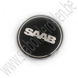 Nevs-uitvoering, embleem motorkap Saab 9-3v2, 9-5 bj '98-'12, art.nr. 2100003, 12844161