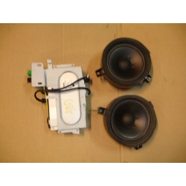 Audioset, Saab 9-3 Versie1, 1998-2003 upgrade AS3, ond.nr. 4712626, 93167062, 4712642