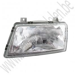 Origineel leverancier koplamp L. Saab 900 klassiek bj: '87 tm '93 art. nr9120130 art. nr32000360 art. nr9555970