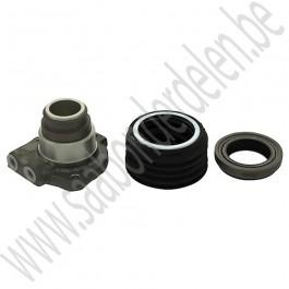 Hydraulische cilinder koppelingsbediening, incl. druklager, bakzijde, origineel leverancier, Saab 99, 90 en 900 Klassiek, bj '75 tm '93, art. nr. 4776308, 8711533, 8722209, 8729840,