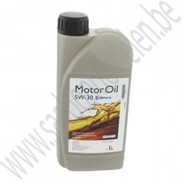 Motorolie, Origineel, 5W30, synthetisch, 1L, Saab 9000, 900NG, 9-3v1, 9-3v2, 9-5, ond. nr. 32019631, 32019372, 93165690, 93165554