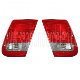 Saab 9-3V2 sedan achterlicht binnenzijde, bj. '03-'07, art. nr. links: 12785763, 12785765, 12777311, R: 12785764, 12785766, 12777310, 12777309