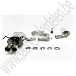BSR Uitlaatsysteem, Sport flow 2.5 inch, Saab 9-3v2, bj 2004-2012, org.nr. 4006321