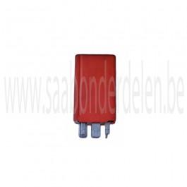 Lampcontrole relais, Origineel, Saab 900NG, 9-3 versie 1, 9-5, en 9000, bouwjaar 1985 tm 2012, art. nr. 4109070, 9524836