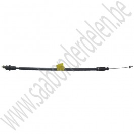 Gaskabel handgeschakeld, Origineel, Saab 900 NG bj 1994-1998 en 9-3v1 bj 1998-2000, art.nr. 4444121
