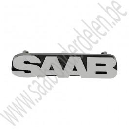 Embleem, grille, Origineel, Saab 9-3v1, 9-3v2, 9-5, bj 1998-2011, ond.nr. 4830071