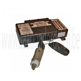 Occasie Saab 9-3V2 elektronische regeleenheid Twice met slotcilinder, sleutel en afstandsbediening, bj. 1998-2003, art. nr. 5042189, 5040506, 5042080, 5040175