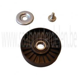 Looprol op spanner multiriem, OE-Kwaliteit, Saab 9-5 en 9-3 Versie 1, bouwjaar 1998 tm 2010, ond. nr. 5172309