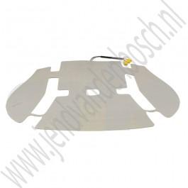 Matje stoelverwarming, Origineel, Saab 9-5, sport stoelen, bj 2002-2010, ond.nr. 5312384