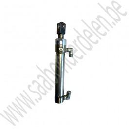 Dakcilinder cabrioletkap, gebruikt, rechts buiten, korte cilinder zonder draad, Saab 9-3v1, bj 1998-2003, ond.nr. 5363155, 5113584