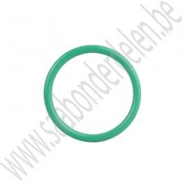 O-ring oliepeilstok, tussenpijp naar onderblok, origineel, Saab 9-3 en 9-5, B205, B235, bj 1998 tm 2010, ond. nr. 55355266, 9147026, 30551929