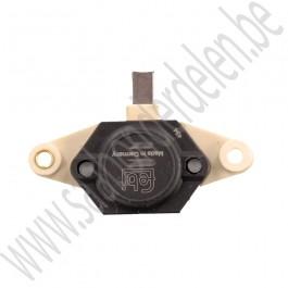 Spanningsregelaar voor in de dynamo, Origineel kwaliteit, Saab 99, 900 classic en 9000, bj. '81 tot '93. art. nr 90349907 8590549