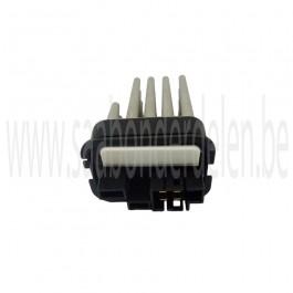 Nw. origineel Saab 9-3V2 kachelventilator regelweerstand,  voor handbediende airconditioning, bj. '03-'12, art. nr. 90566802, 90512510