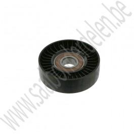 Looprol, Spanner multiriem, OE-Kwaliteit, Saab 9-3v2, 1.8i non-turbo, Z18XE, bj 2004-2009, org.nr. 90571758, 9157970