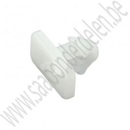 Clip, rubber rand motorkap, deurstrip, Origineel, Saab 900NG, 9000 CS, bj 1992-1998, ond.nr. 9087289