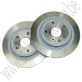 Voorremschijven, 17+ inch, OE-Kwaliteit, Saab 9-5ng, bj 2010-2012, ond. nr. 13576781, 13579153