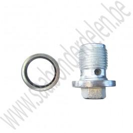 Carterplug 1.9 Diesel 9-3 sport, 9-5 en 9-5 New Generation bj: '05 t/m '12 art. nr93183669