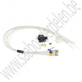 Injector stekker, gemodificeerd, Origineel, Saab 9-5, 9-3v2, 1.9 TiD, 1.9 TTiD, bj 2005-2012, org.nr. 93189918