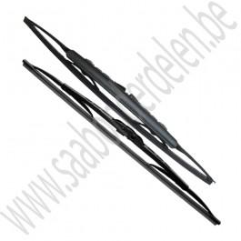 Ruitenwisser set, voorruit, Origineel, Saab 900NG, 9000, 9-3v1, ond.nr. 93196009, 93195936