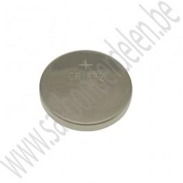 Batterij, afstandsbediening sleutel, CR1632, Saab 9-3v1, 9-5, bj 1998-2010, ond.nr. 5264684