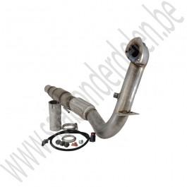 3 inch downpipe, incl sport katalysator, BSR, Saab 9-3v2, 1.8t, 2.0t, 2.0T, B207, bj 2003-2011, org. nr. 12758374, 12788865, 4105633